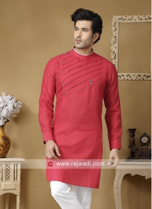 Stylish Linen Fabric Kurta
