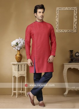 Stylish Linen Kurta Set