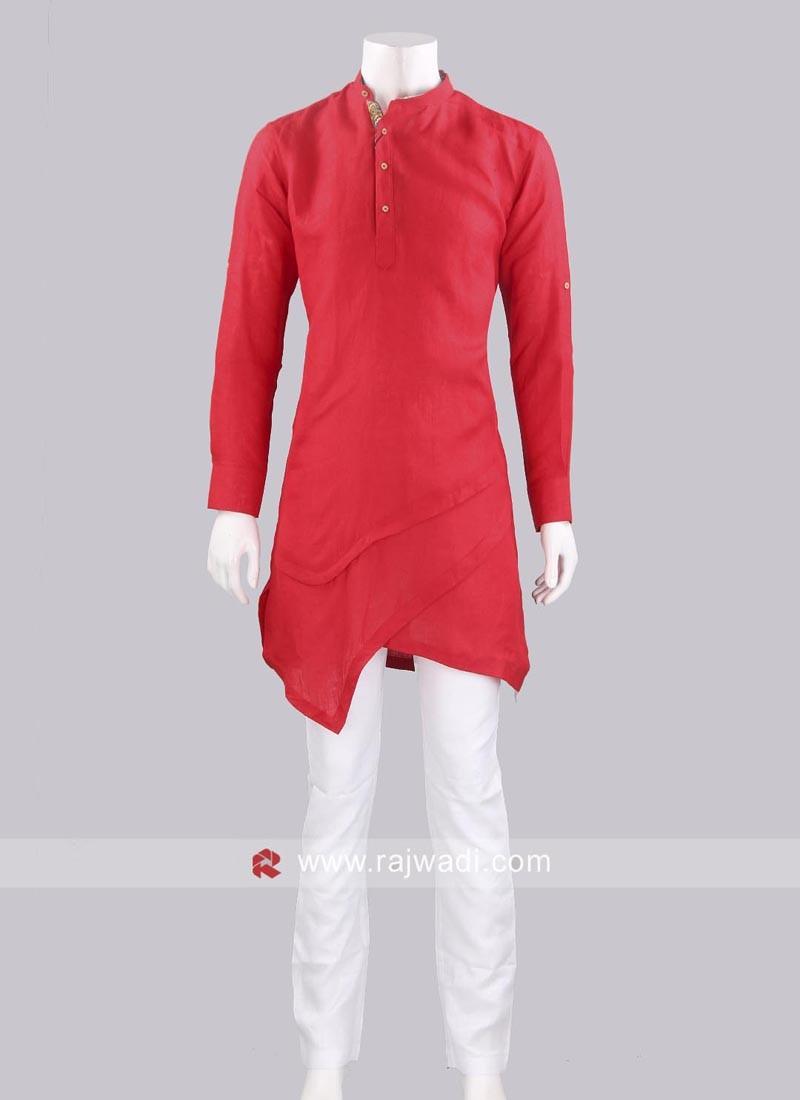 Stylish Linen Pathani Suit