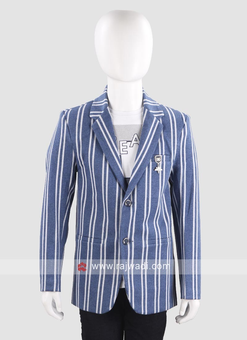 Stylish Lining Blazer For Boys