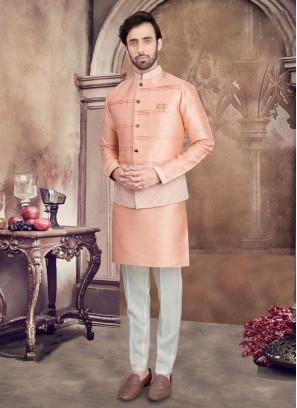 Stylish Nehru Jacket Set