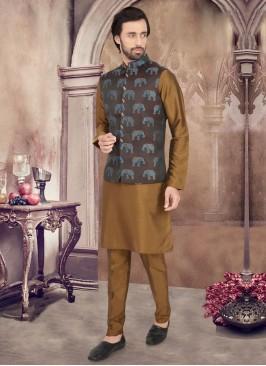 Stylish Nehru Jacket Suit