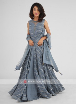 Stylish Party Wear Anarkali Suit