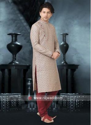 Stylish Cream color Kurta Pajama