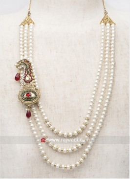 Stylish Pearl Wedding Mala