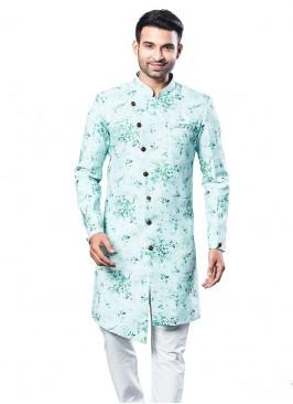 Stylish Printed Cotton Silk Kurta Suit