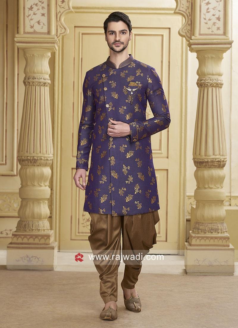 Stylish Purple Color Patiala Suit