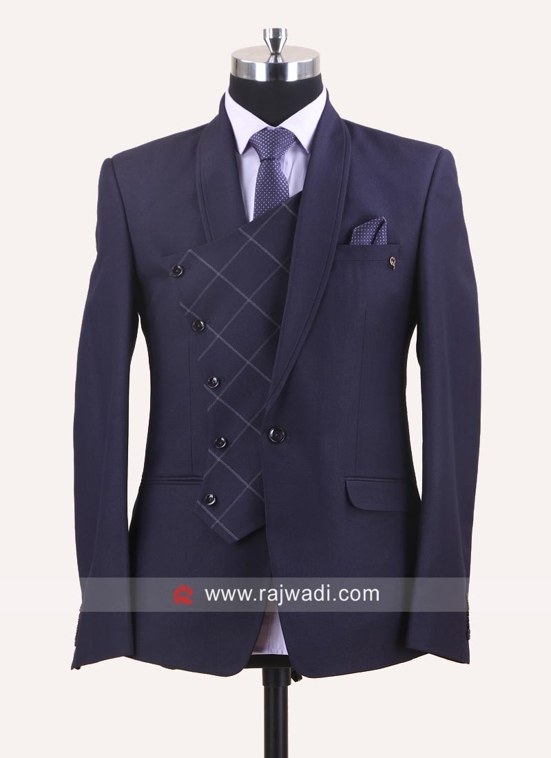 Stylish Purple Color Suit