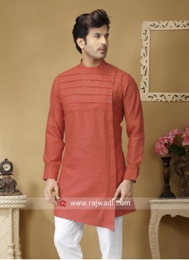 Stylish Rust Color Kurta