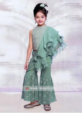 Stylish Satin Silk Dress For Girls