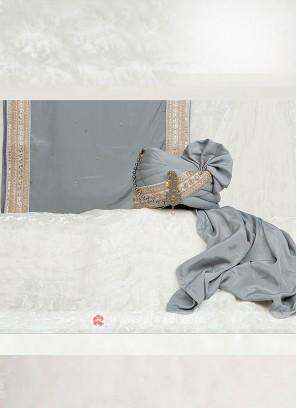 Stylish Satin Silk Groom