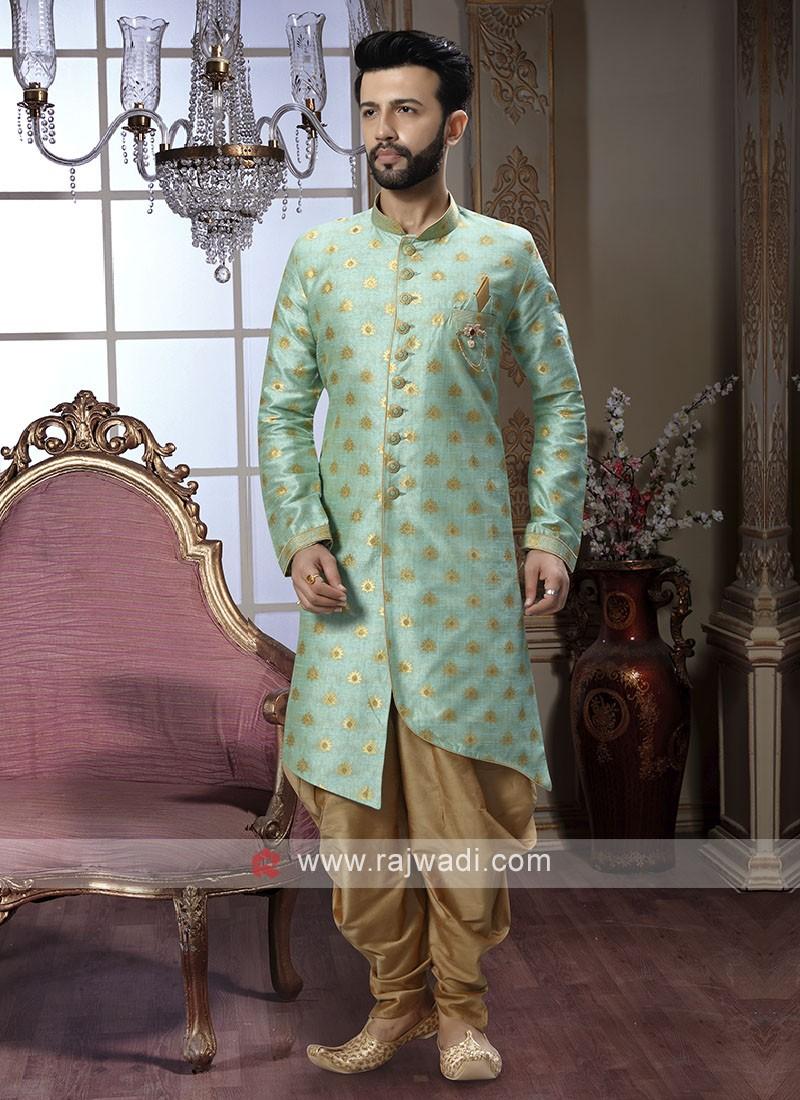 Stylish Sea Green Patiala Suit
