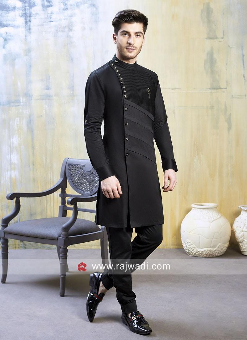 Stylish Satin Silk Fabric Indo Western