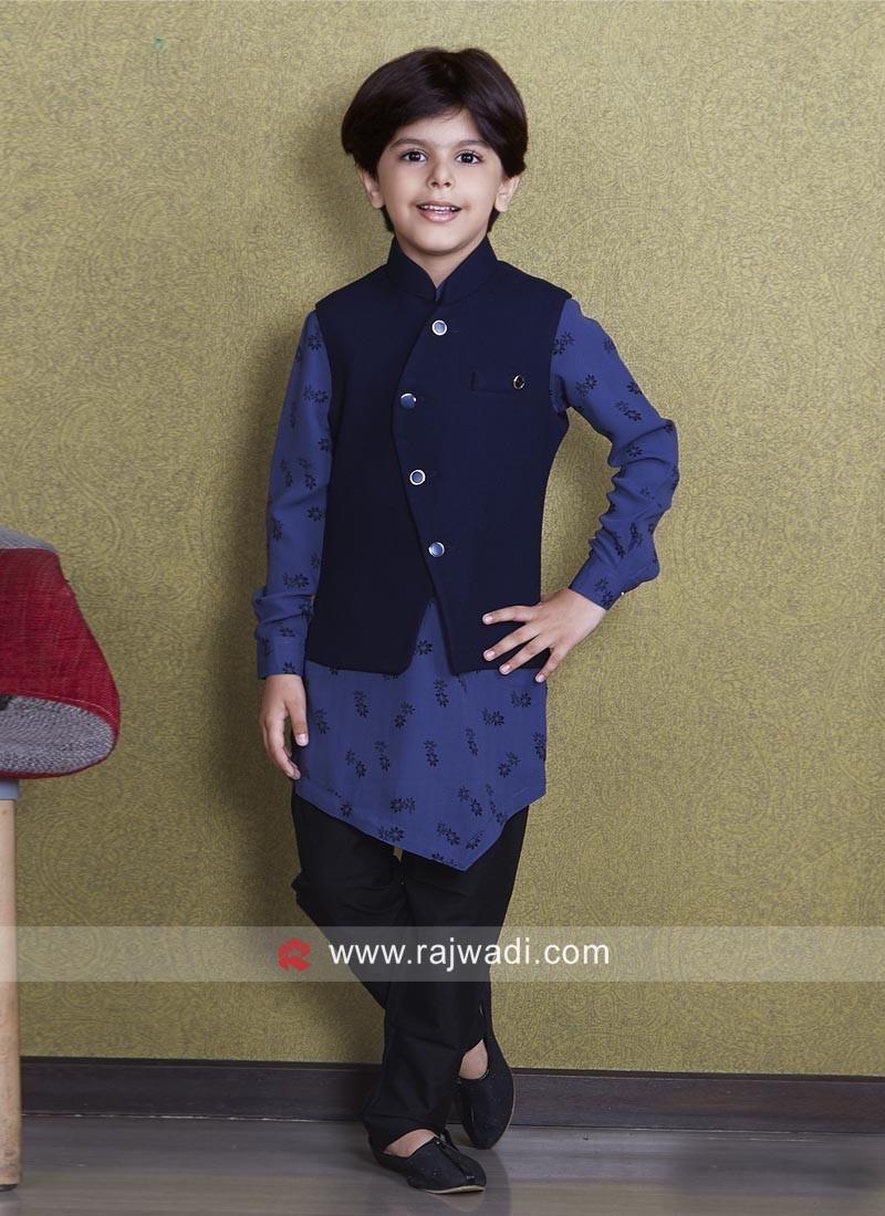 Stylish Cotton Silk Fabric Koti Set