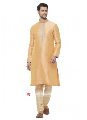 Stylish Silk Fabric Kurta Pajama