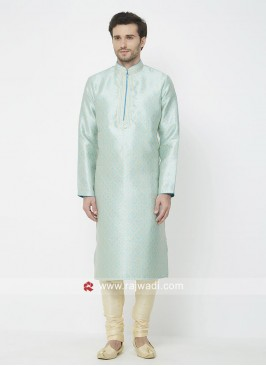 Stylish Sky Blue Kurta Pajama