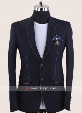 Stylish Terry Rayon Fabric Blazer