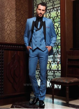 Stylish Terry Rayon Five Piece Suit