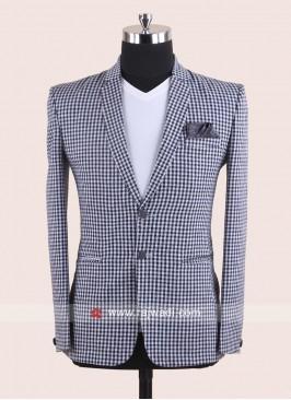 Stylish White Blazer For Wedding