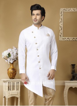 Stylish White Color Kurta For Wedding