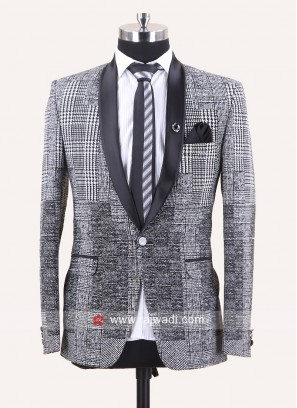 Stylish White Imported Fabric Suit