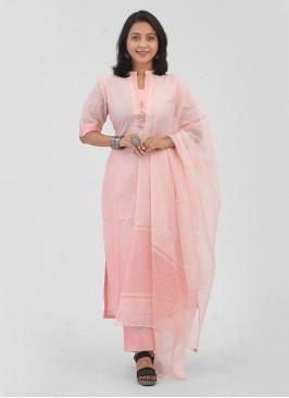 Stylish Women's Light Pink Pant Suits