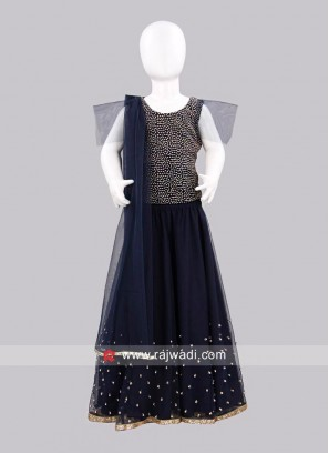 Sugar Candy Kids Net Lehenga Choli