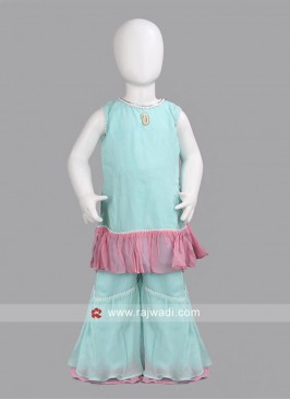 Sugar Candy Readymade Kids Palazzo Suit