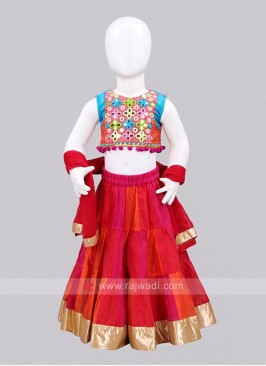 Sugar Candy Traditional Kids Lehenga Choli