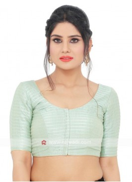 Tafeta Ready Blouse In Light Teal