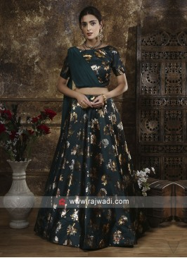 Tafeta Silk Party Wear Lehenga Choli