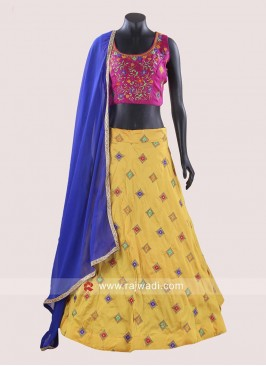 Taffeta Silk Chaniya Choli