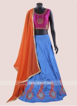 Taffeta Silk Chaniya Choli for Navratri