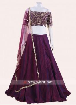 Taffeta Silk Designer Lehenga Choli