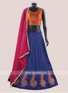 Taffeta Silk Readymade Chaniya Choli