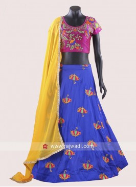 Taffeta Silk Traditional Chaniya Choli