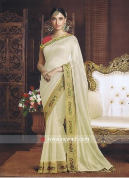 Tamannaah Bhatia Art Silk Bollywood Saree