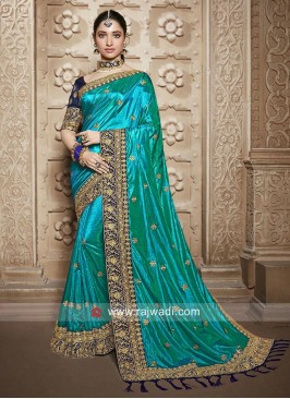 Tamannaah Bhatia Art Silk Wedding Saree