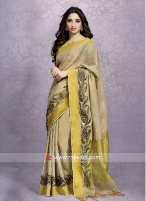 Tamannaah Bhatia Cotton Silk Wedding Saree