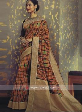 Tamannaah Bhatia Designer Printed Saree