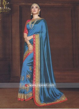 Tamannaah Bhatia Embroidered Saree