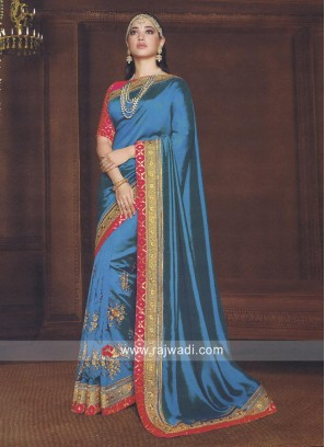 Tamannaah Bhatia Embroidered Saree