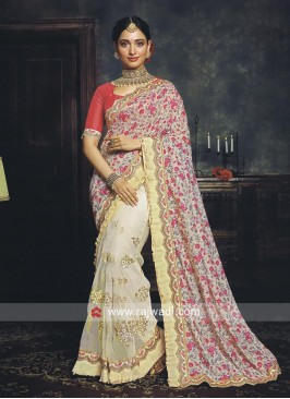 Tamannaah Bhatia Flower Print Half Saree