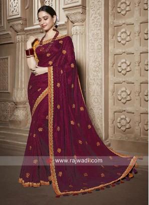 Tamannaah Bhatia Jacquard Silk Saree