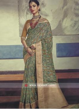 Tamannaah Bhatia Multicolor Saree