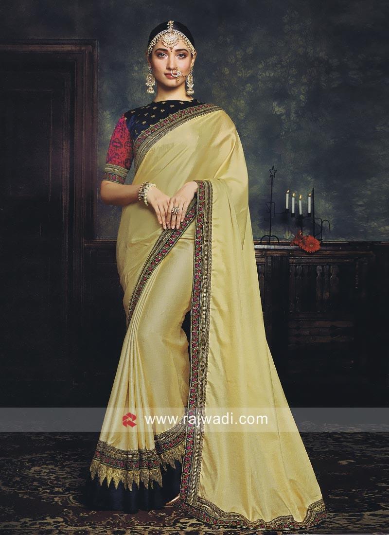 35b955e0230e6 Tamannaah Bhatia Resham and Zari Work Saree. Hover to zoom