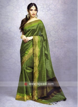 Tamannaah Bhatia Zari Work Sari