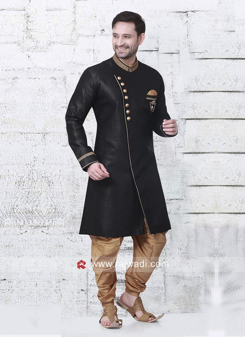Black Color Indo Western