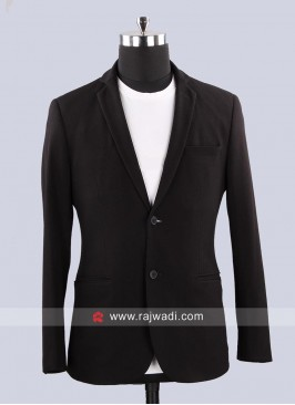 Terry Bone Fabric Mens Blazer