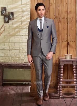 Terry Rayon Dim Grey Suit